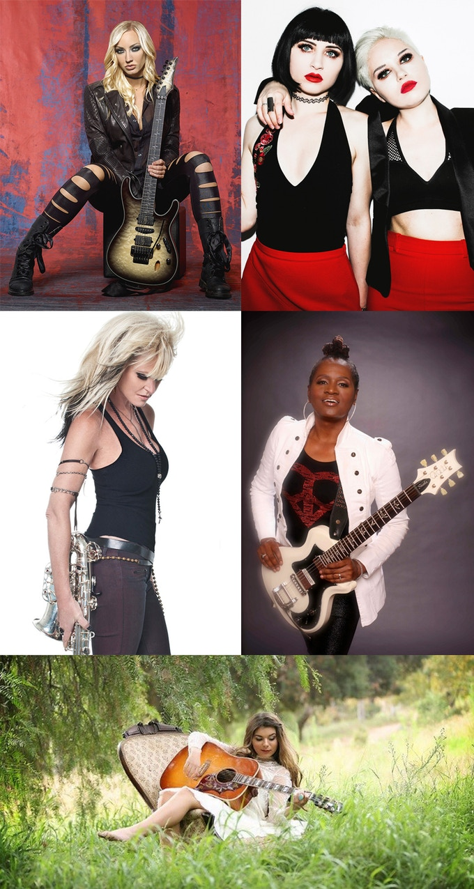 Guests on Girl include: Nita Strauss, The Command Sisters, Mindi Abair, Kat Dyson, Sabrina Lentini and others!