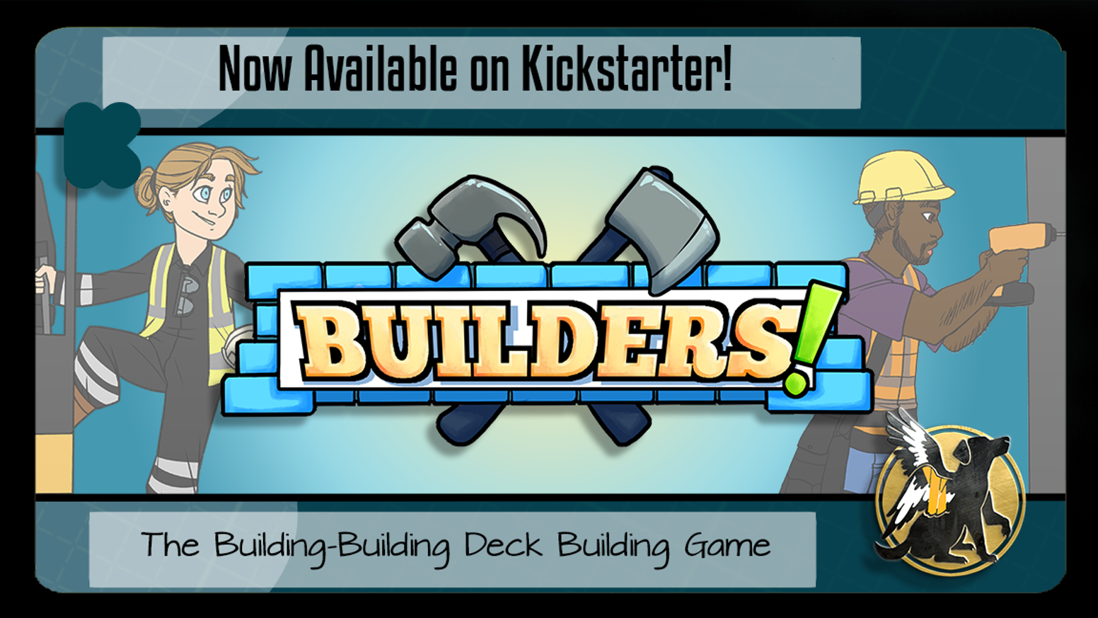 Builders! is a deck-builder where you're trying to build the tallest, and most valuable, skyscrapers.