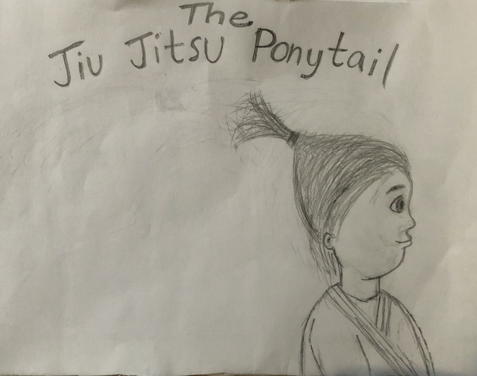 My original sketch for the cover