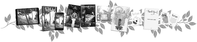Softcover Library + Sketch Card Tier (SOLD OUT)