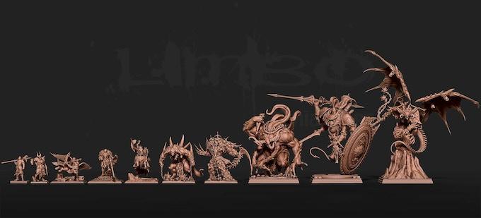 Limbo: Eternal War by Limbo Miniatures — Kickstarter
