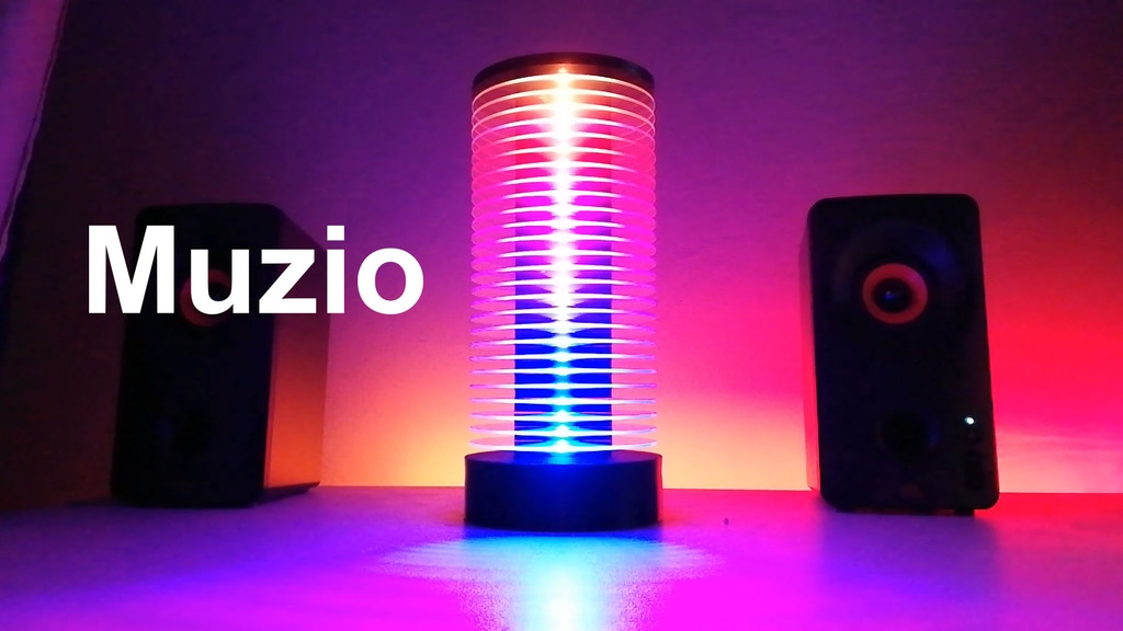 Muzio - Music Reactive Led Lamp project video thumbnail
