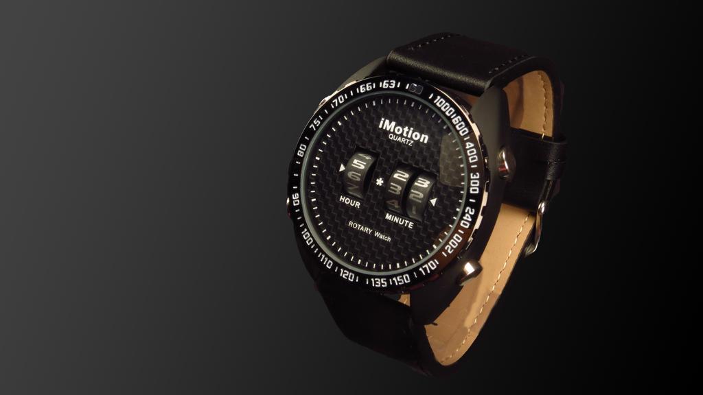 Rotary analogue watch, digital quartz technology project video thumbnail