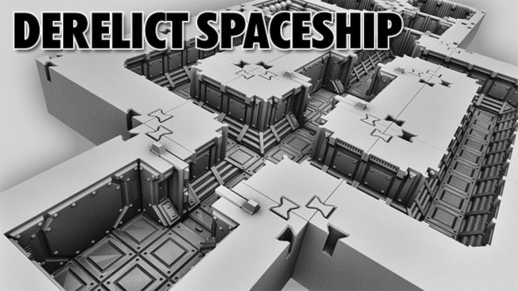 Derelict Spaceship project video thumbnail