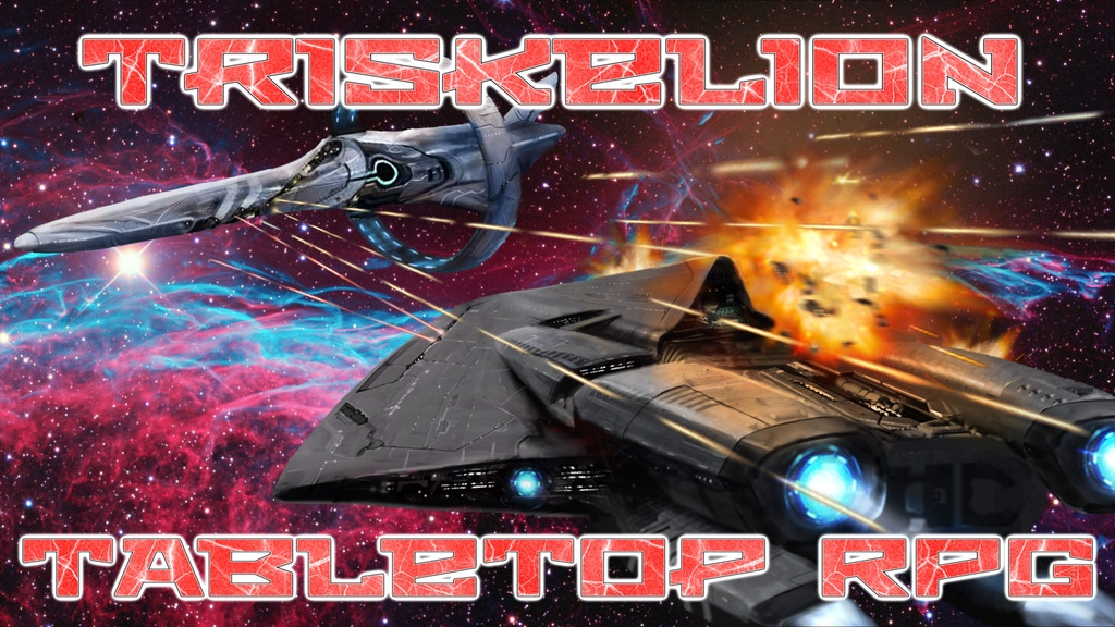 Project image for Triskelion Space Tabletop RPG (Canceled)