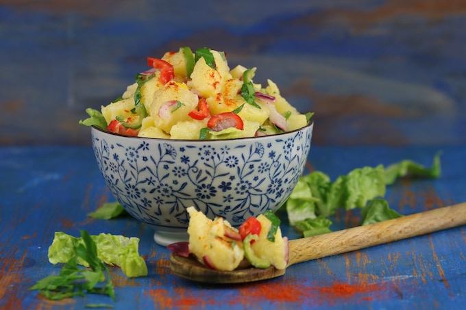 Selata Dinich - potato salad