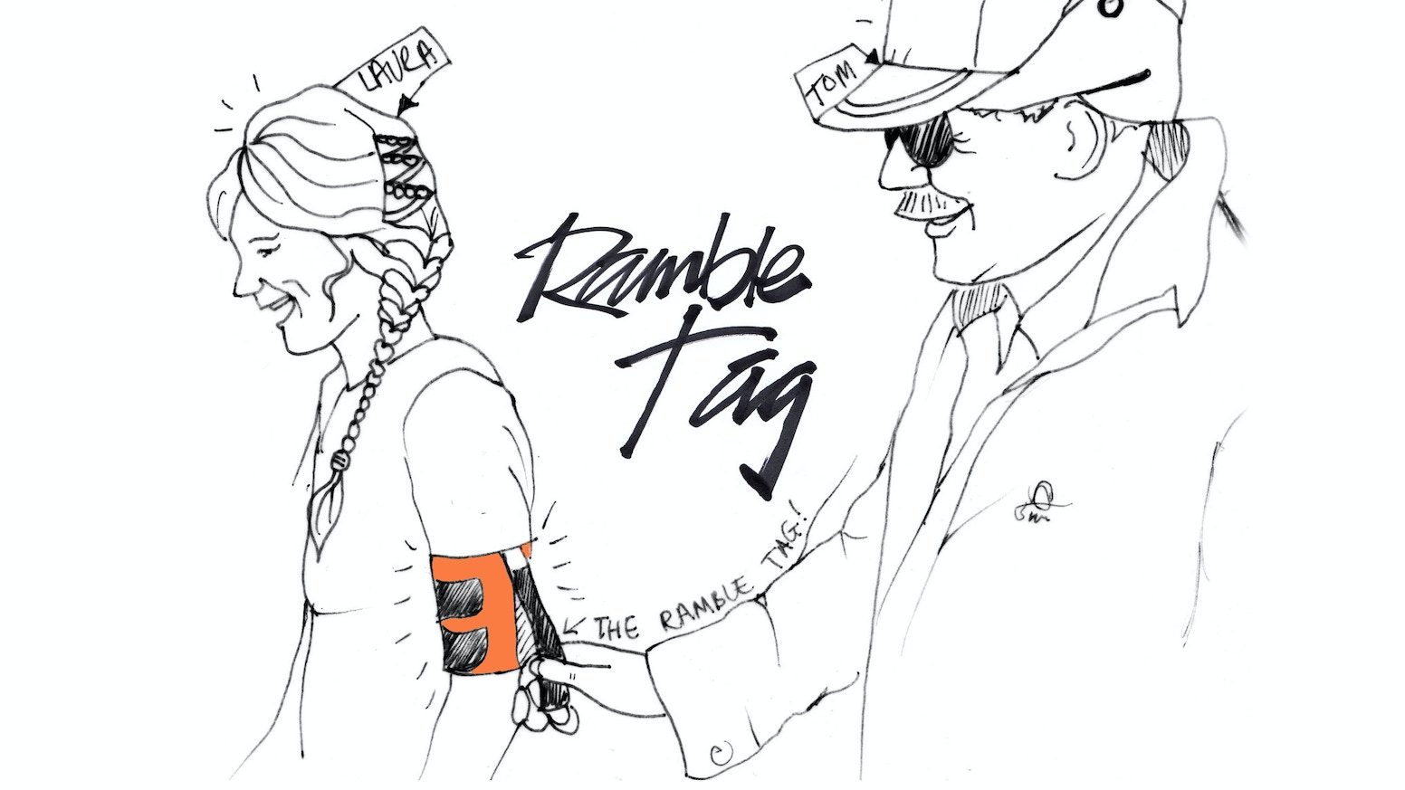 The Ramble Tag is designed specifically for visually impaired people, to improve the experience of guided walking and sports.. .It is now for sale at www.rambletag.co.uk - FREE WORLDWIDE POSTAGE.
