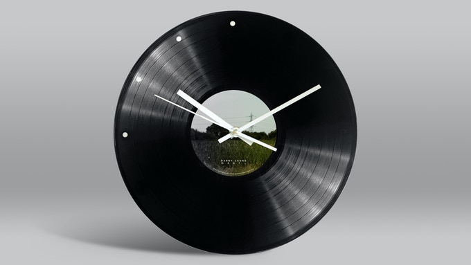 10 9 8 7... Doomsday Vinyl Clock