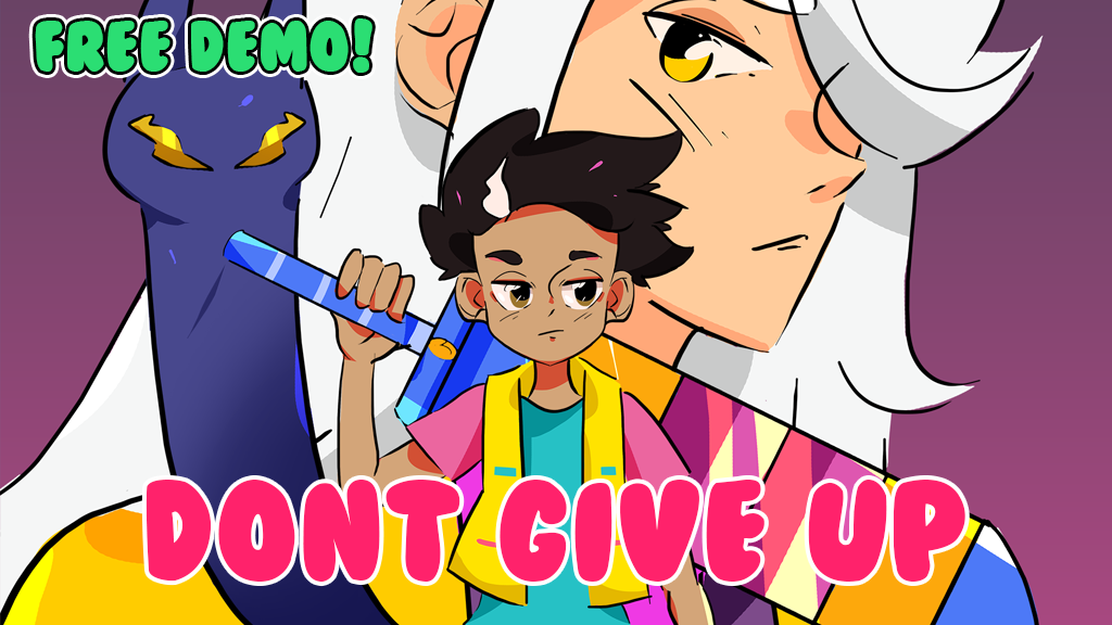 DON'T GIVE UP: A Cynical Tale project video thumbnail