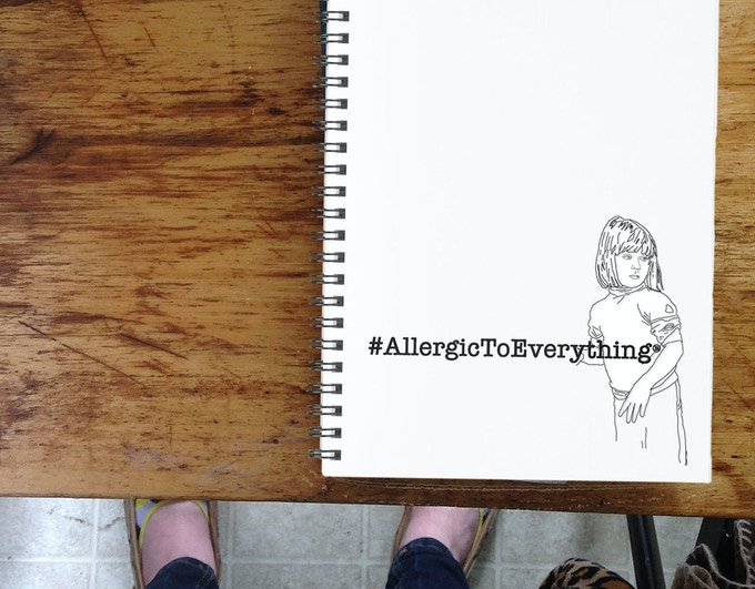 #AllergicToEverything