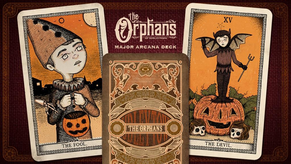 The Orphans Major Arcana Tarot Deck project video thumbnail