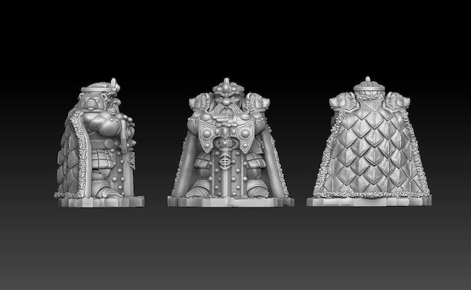 Dwarven King Free Give Away Miniature