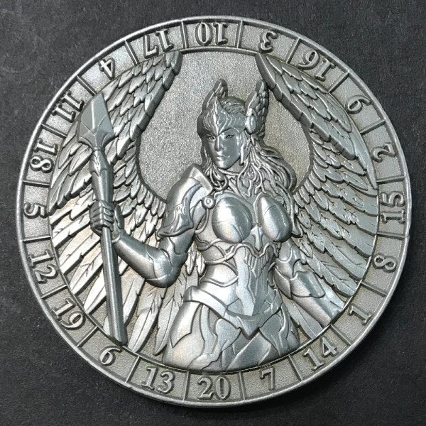 Valkyrie (antique silver plated)