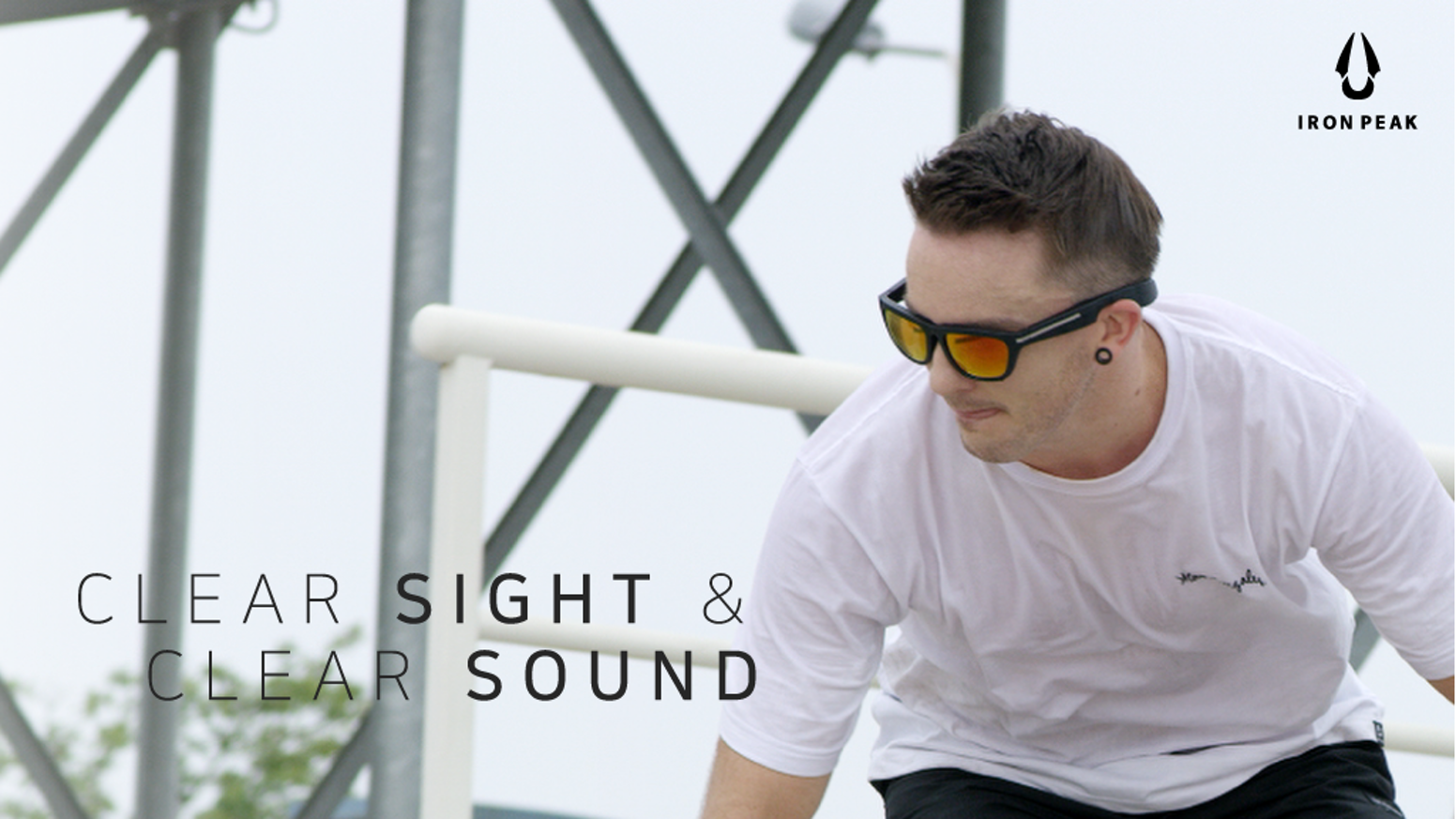 15d220c1bc4e1 IRONPEAK   Sunglasses and Music Without The Wires by IRONPEAK ...