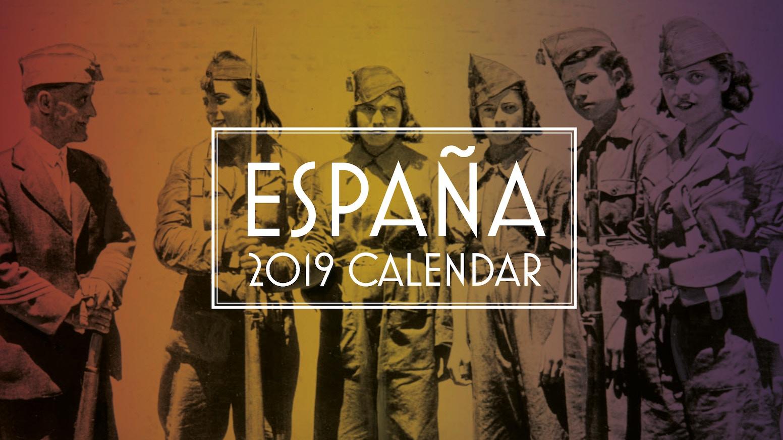 Poster Calendario 2020.Spanish Republican Calendar 2019 Calendario Republicano