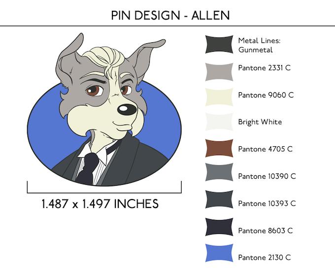 Allen Pin - UNLOCKED at $3,000