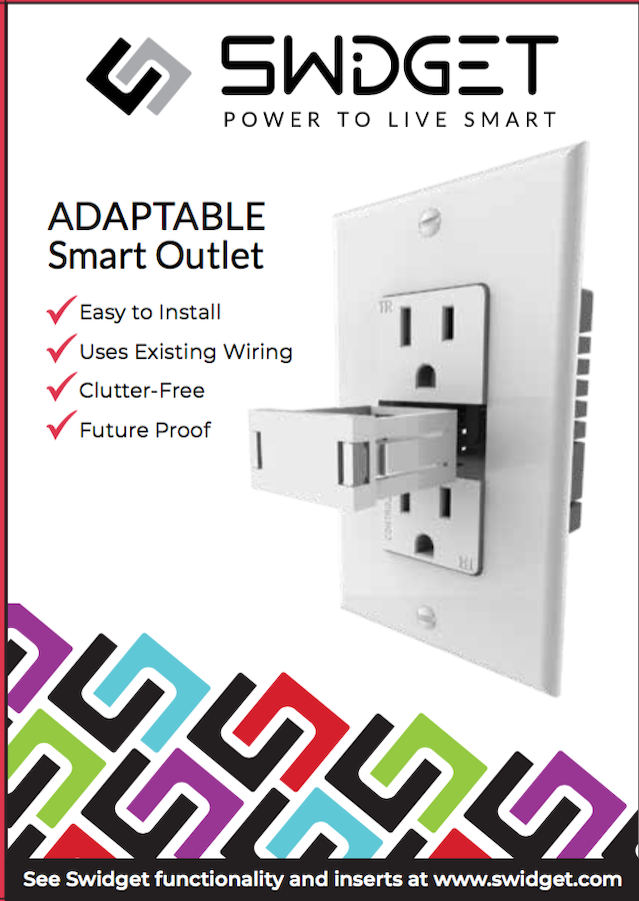 Swidget™ Outlet: The Smart Home Device for All Platforms by Swidget