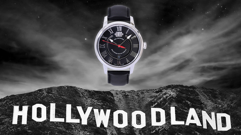 Watches with Antique Metal from the Original Hollywood Sign