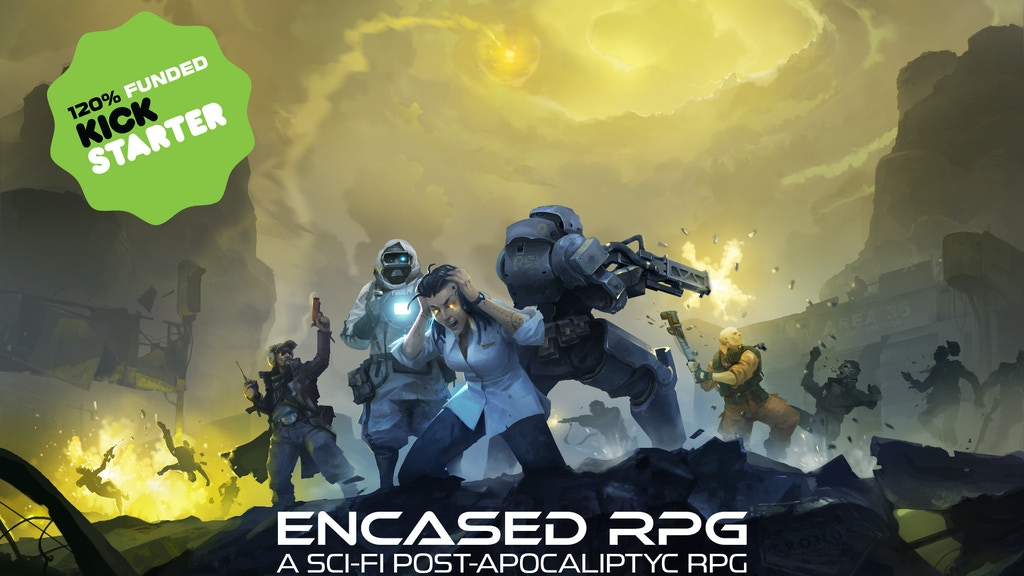 Encased — old school isometric turn-based RPG project video thumbnail