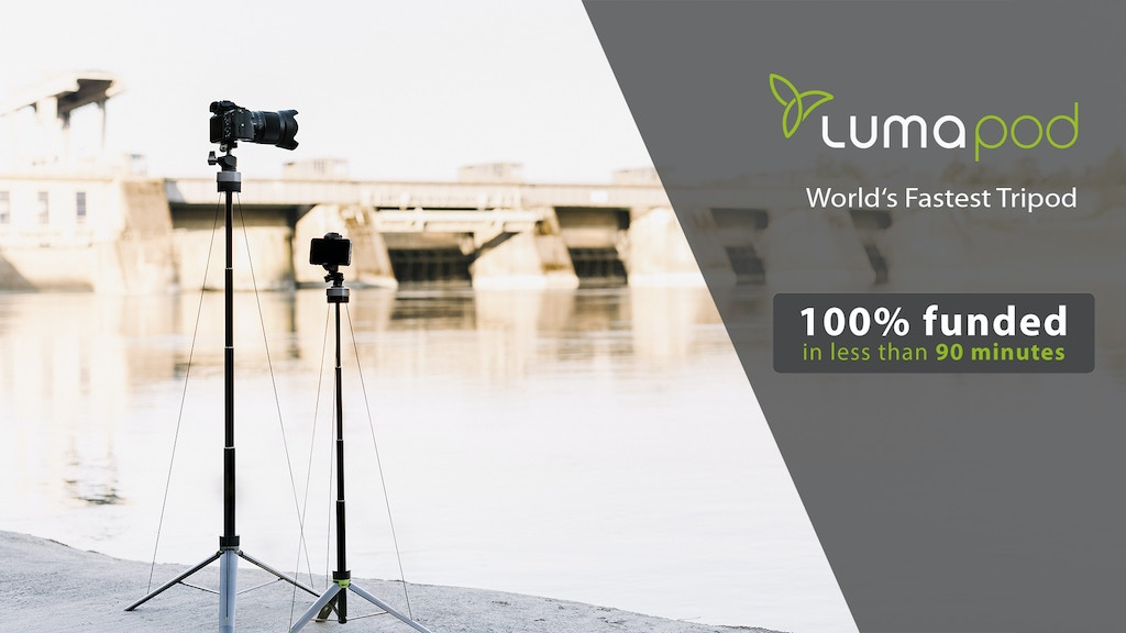 Lumapod - The World's Fastest Tripod