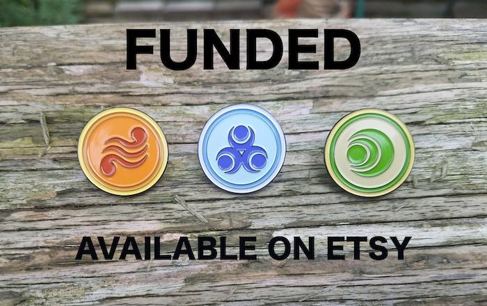 Zelda Wind Waker Goddess Pearls by PinBoyBen — Kickstarter