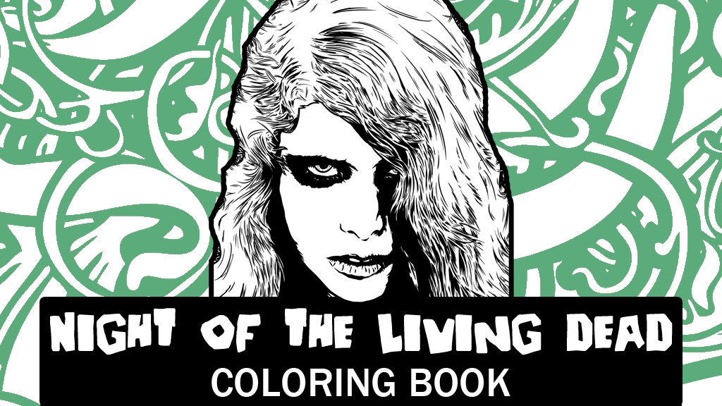 Night of the Living Dead Coloring Book project video thumbnail