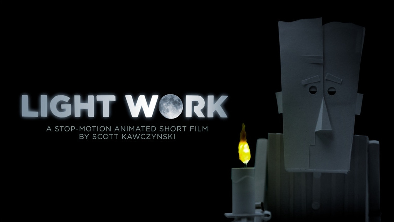 Light Work is a stop-motion animated short film about a lonely old man who is entrusted with a thankless Sisyphean task.