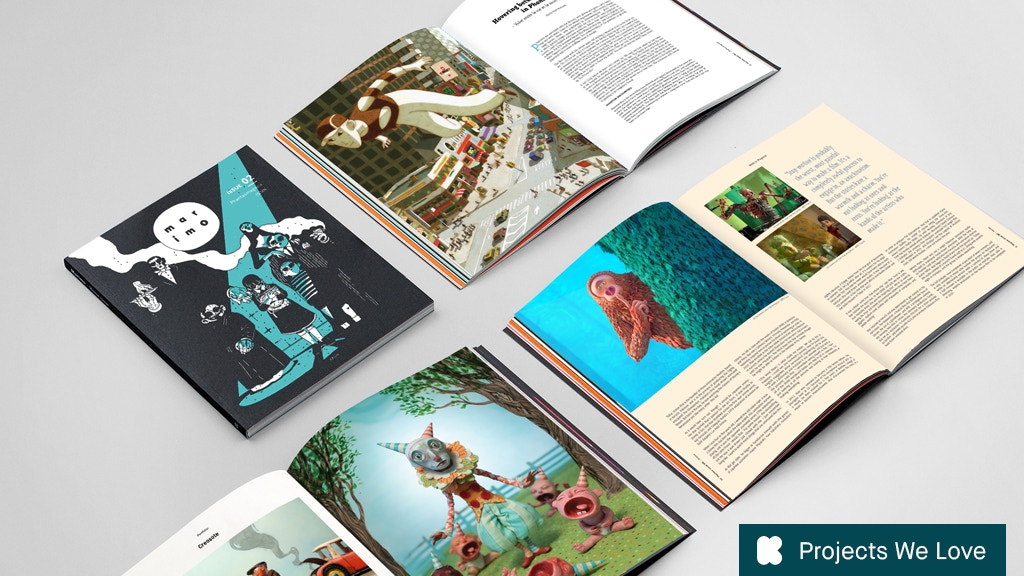 Marimo - A magazine about animation and beyond project video thumbnail