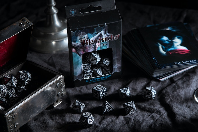 The Bloodsucker dice all ready! Real pic, not a render