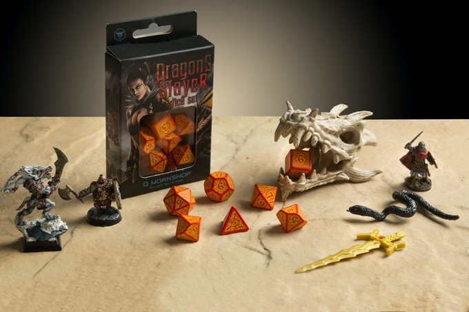 Are you joining the fight? The Dragon Slayer dice are waiting!