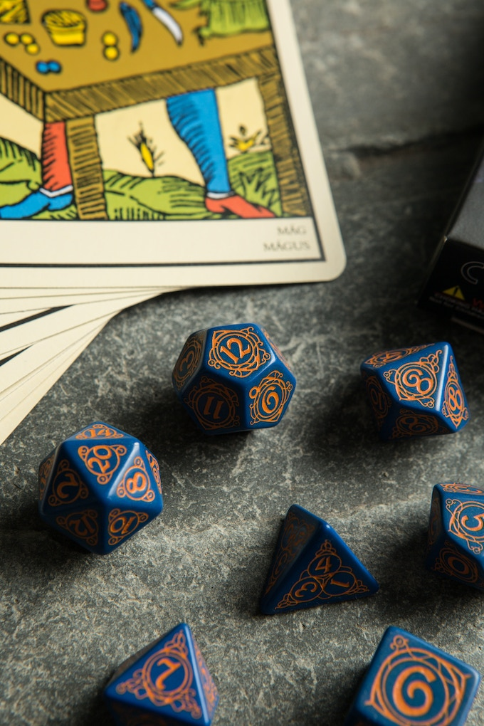 Wizard Dice - real pic detail