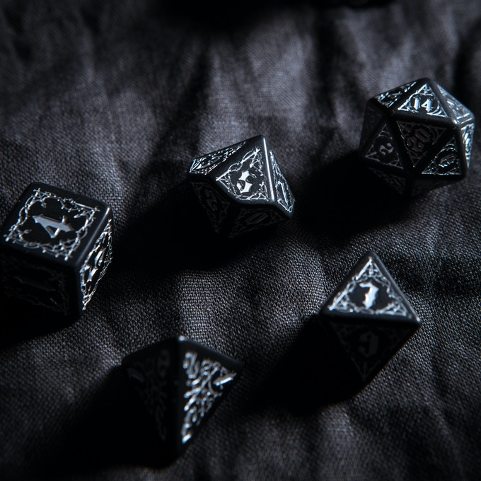 Bloodsucker dice - real pic detail