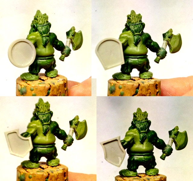 ...and how they fit with the other add on miniature, the mighty Slayer!