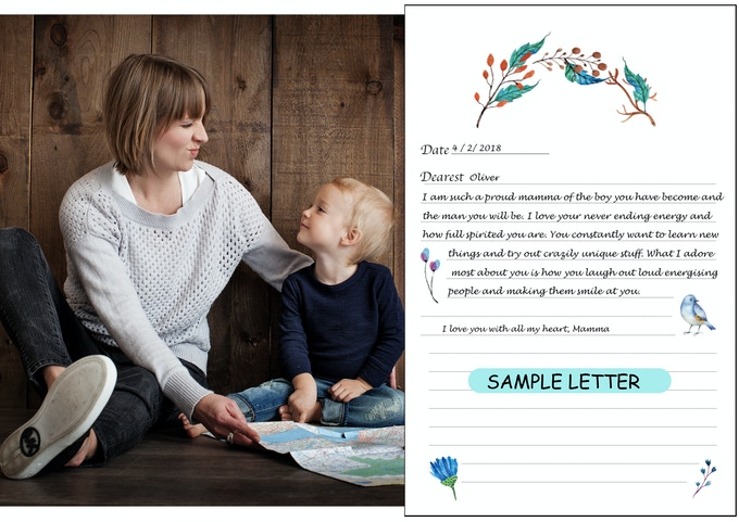 Letters to my Son' and 'Letters to my Daughter' by Always & Forever