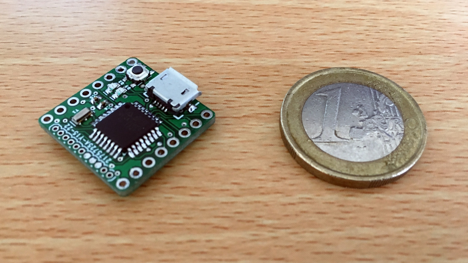 Pico The Worlds Smallest Arduino 328pb Core By Bitsnblobs Dc 12v To 5v Converter Circuit Uno Breadboard More Features And Performance Than An In A Tiny Quarter Sized Board Thats Compatible