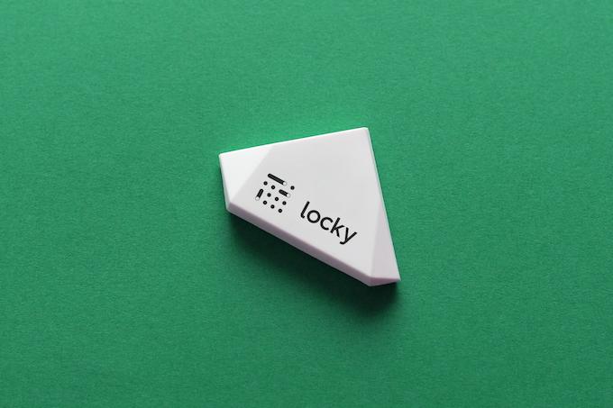 Beacon sticker by Estimote