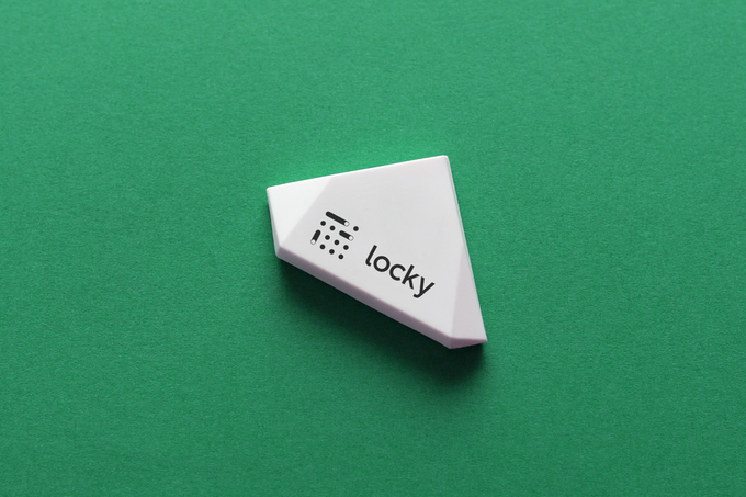 Beacon sticker by Estimote