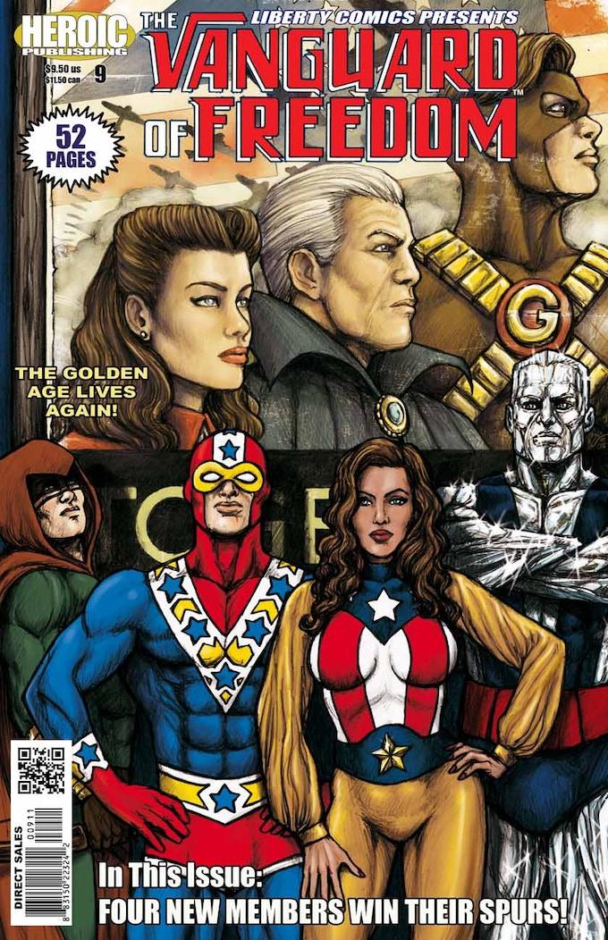 Cover of Liberty Comics #9