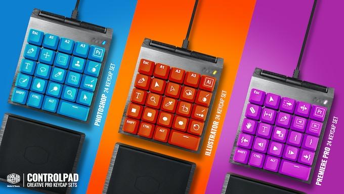 ControlPad colors