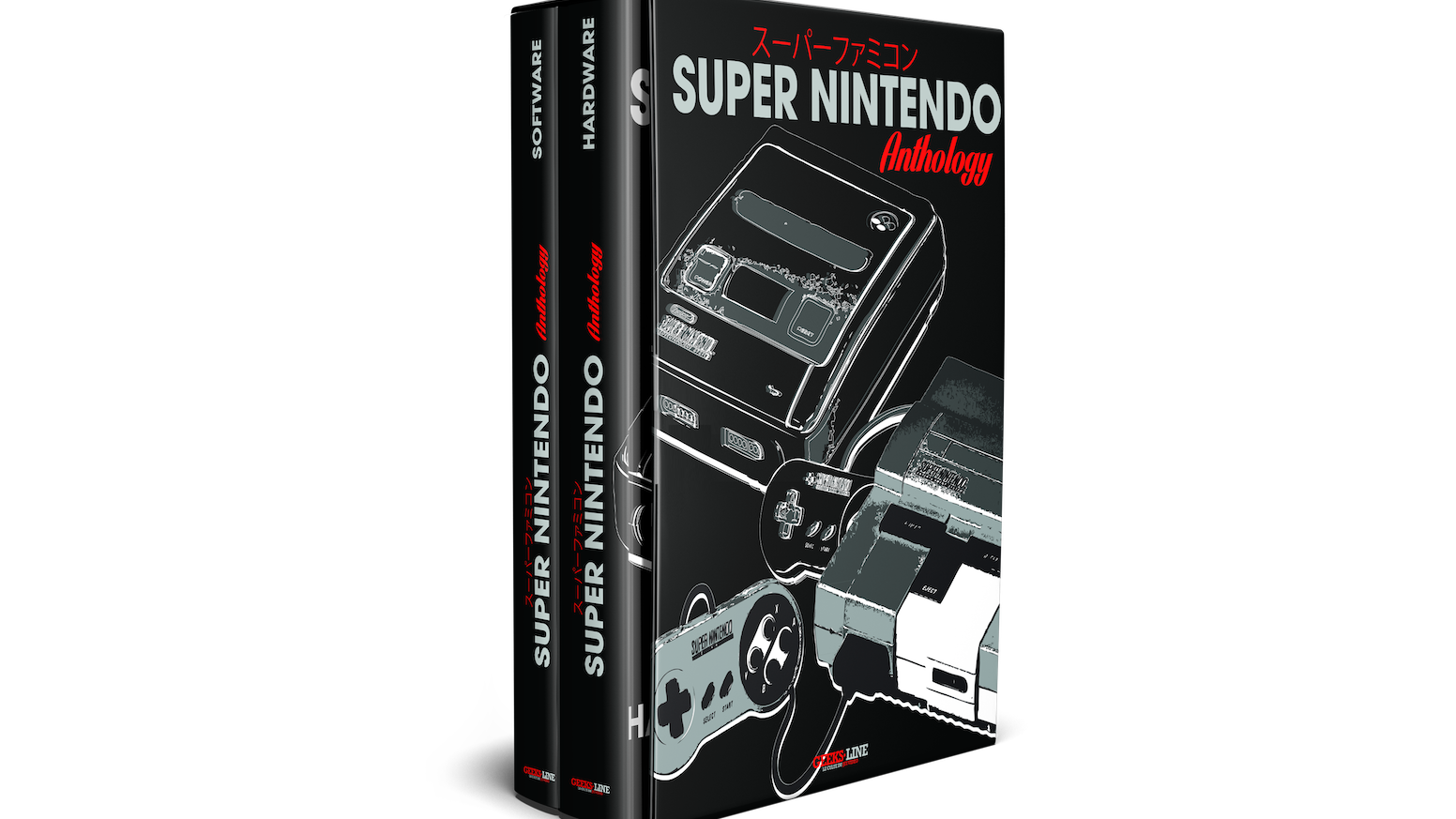 2 Books In 1 (Hardware and Software), More Than 620 Pages, The Ultimate Reference For All Super Nintendo Fans!