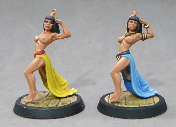 £6000 Court Dancer.  Sculpted by John Winter.  UNLOCKED!  Two versions available, adorned (with jewelry) and unadorned (without jewelry) - available as an add-on for £4 each.