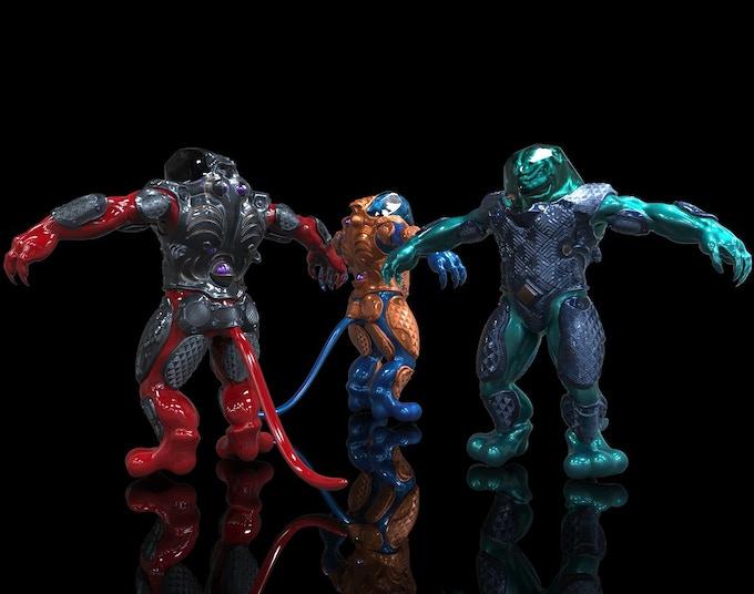 3 QHIliin aliens