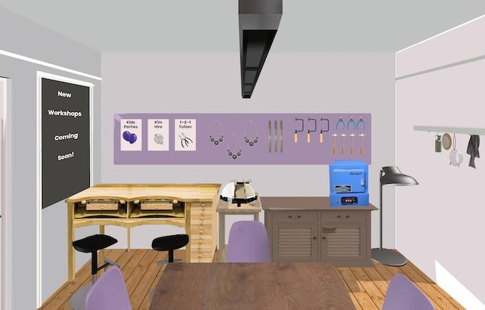 The Grad4Notts workshop room plan