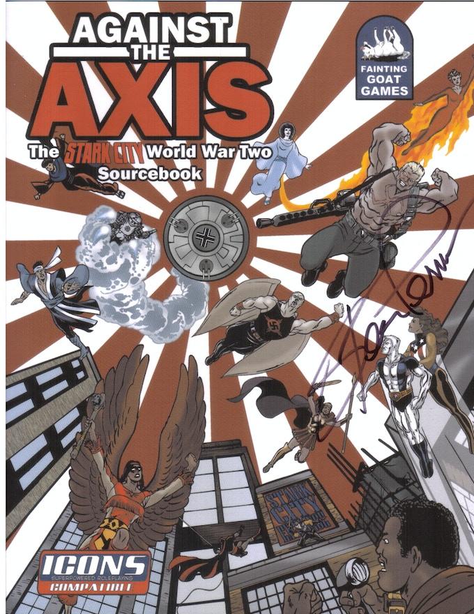 "Steve Perrin's ""Against the Axis"" RPG"
