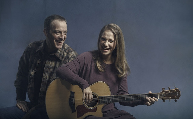 Leif Norby and Merideth Kaye Clark in Winter Song at The Armory. Photo by Kate Szrom.