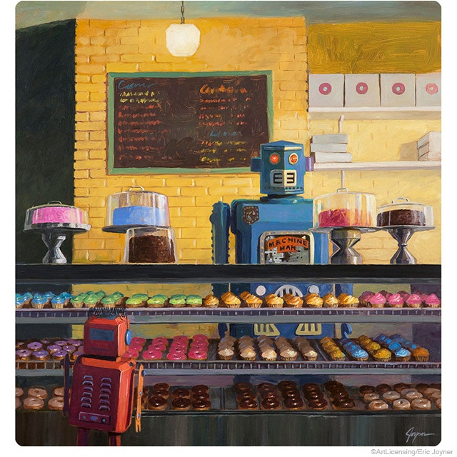 Concept Art- donut shop interior