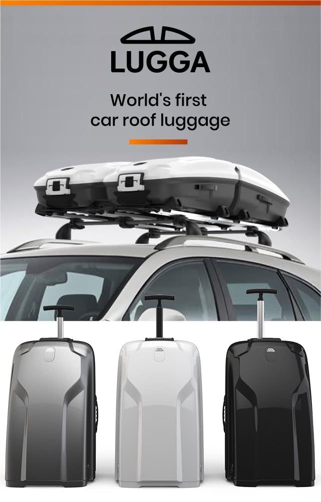 Lugga — Modular Suitcase & Car Rack Luggage Solution
