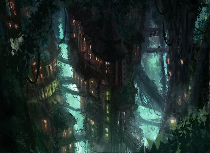 Forest Villager Settlement- Windfall
