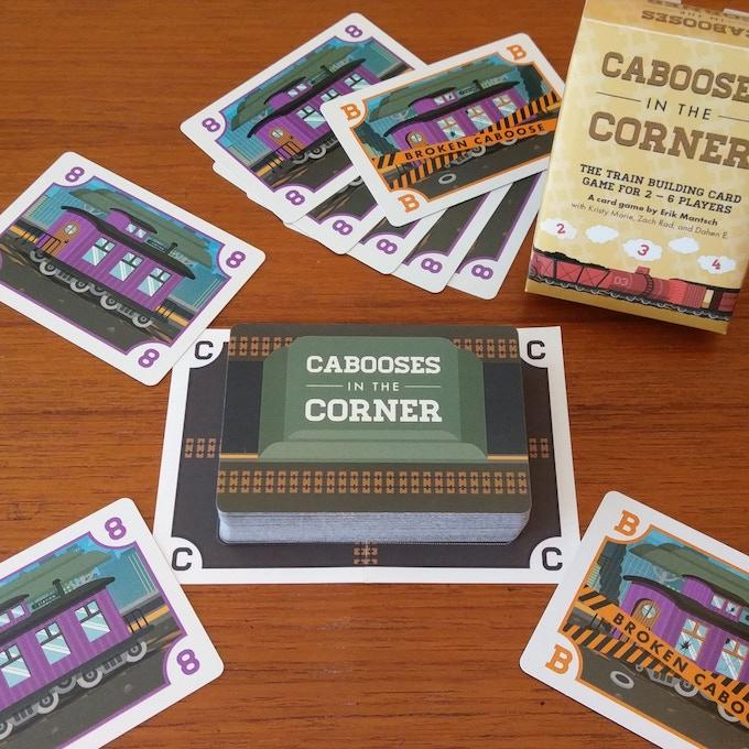 Cabooses in the Corner by Erik Mantsch — Kickstarter