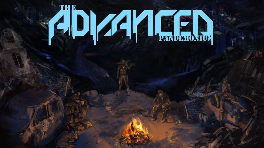 Project image for The ADVANCED: Pandemonium, a complete tabletop rpg system